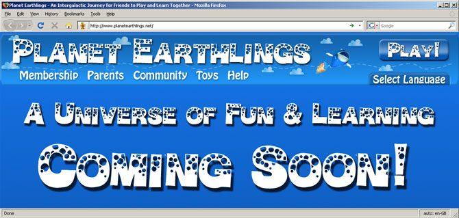 Planet Earthlings - Coming Soon